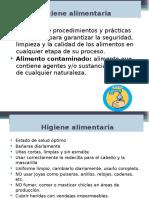 Programa de Higiene y Saneamiento Produccion.