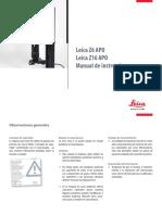 Leica Z6-Z16APO Manual ES