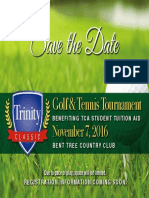 Trinity Classic Save the Date