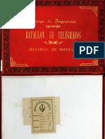 Batallón de Telégrafos Material de Montaña [III-31!7!6]