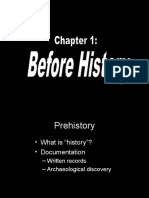 1 - Before History
