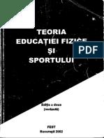 Dragnea 2002 Teoria Ed Fizice Si Sportului