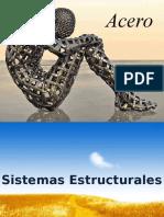 Acero Tema de Investigacion (Sistemas Estructurales)