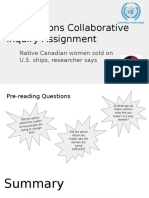 first nations collaborative inquiry assignment  1