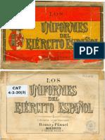 Los Uniformes Del Ejército Español (CA. 1907)