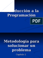 Unidad 02 - Metodología Para Solucionar Un Problema
