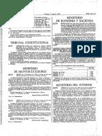 Orden de 6 de Marzo de 1989 Uniforme de Trabajo Del Cuerpo Nacional de Policía