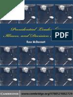 Presidential Leadership, Illness, and Decision Making.pdf