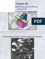 Abrasive Machining and Finishin Operation