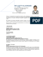 Licetti Villaorduña Renzo CV