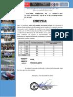 Certificado de Promoción de Estudios