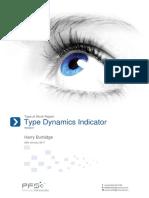 harry burbidge type dynamics indicator type at work report