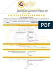 patientenbefragung - Behandlungsvertrag Muster