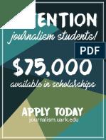 Journalism Scholarship
