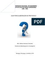 Guia de Protocolo