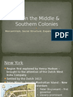 Middle & Southern Colonies