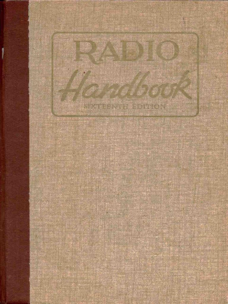 Radio Handbook 16 1962 Antenna Amplifier Morse 600 Sewing Machine Threading Diagram