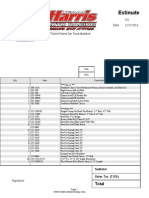 Racecar Purchase Invoice Example