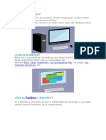 Hardware, Software y Dispositivos