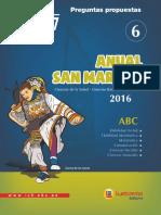 ANUAL SAN MARCOS 6 - 2016