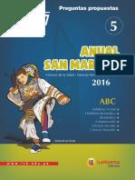 ANUAL SAN MARCOS 5 - 2016