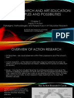 action research and art education- principles and possibilities