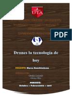 Drones La Tecnología de Hoy