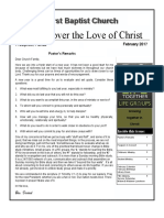 Discover the Love of Christfeb17