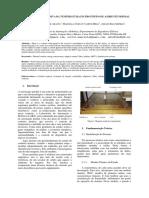 Identificação Recursiva Da Temperatura Em Protótipo de Ambiente Predial