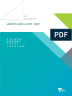 FSH Residential Tenancies Act Options Paper - Full Paper