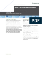 The Forrester Wave Enterprise CollaborationQ4 2016