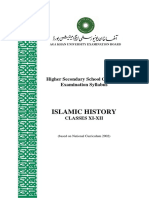 Islamic History_Classes XI-XII _NC 2002_June 2012