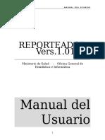 Manual Del Usuario Reporteador