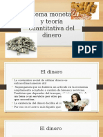 Sistema Monetario y Teoría Cuantitativa Del Dinero