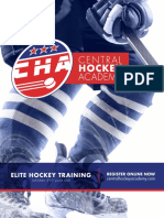 CHA Elite Hockey Training Brochure 2017