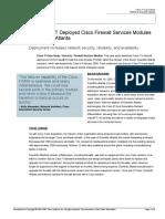 Cisco IT Case Study Scientific Atlanta FWSM