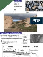 3 Materiales sedimentarios