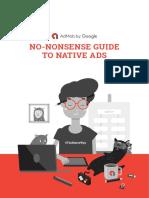 Ad Mob Native Ads Guide