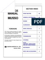 Service Manual Musso