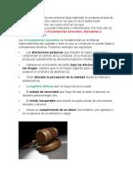 Analisis de Las Eximentas de Responsabilidad Arto 33 CP.