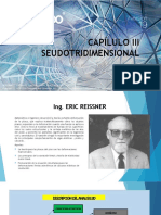 CAPÍLULO III  SEUDO TRIDIMENSIONAL Diposositivas