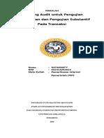 Audit Sampling (Ratnawaty)