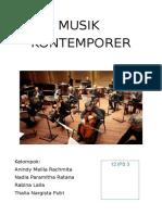 Musik Kontemporer