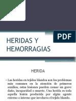 Heridas y Hemorragias