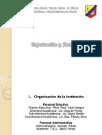 Entrada 5, Organizacion y Personal