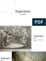 Pygmalion Context and Art