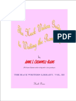 Hack Writers Guide to Writing the Romance