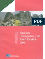 2.- Endes 2000 Informe General