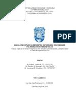 Modulo de Rotura en Concreto R. (TESIS)