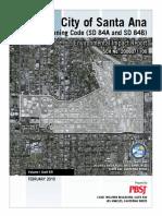 D E I R Santa Ana Transit Zoning Code Whole Document